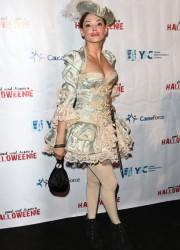 Rose McGowan at Halloween Party