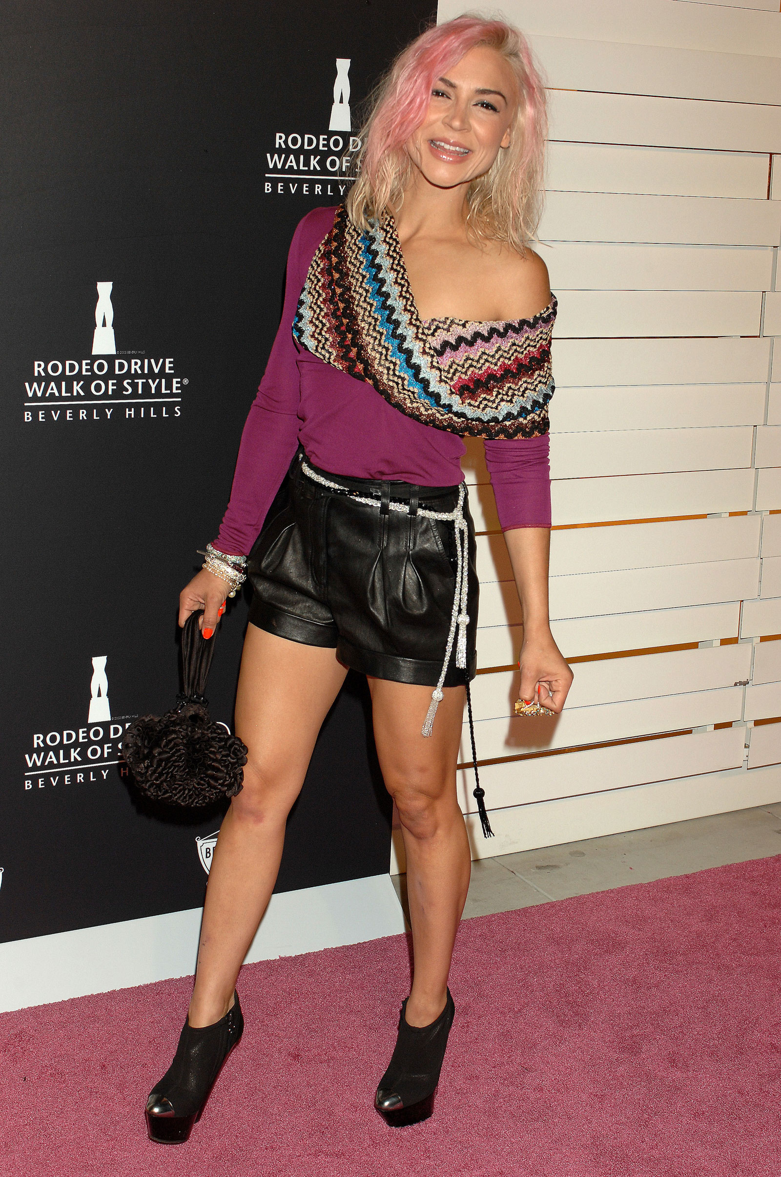 Samaire Armstrong At Rodeo Drive Walk Of Style Award In