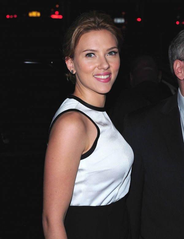 Scarlett Johansson in New York
