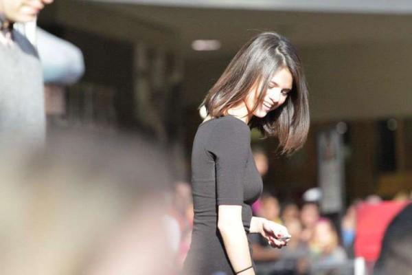 Selena Gomez Signing Autographs