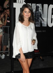 Selena Gomez at The Thing Premiere