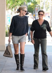Sharon Stone in Beverly Hills