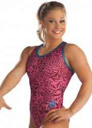 Shawn Johnson in Leotards