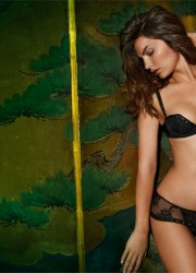 Alyssa Miller - Intimissimi Winter Lingerie Photoshoot