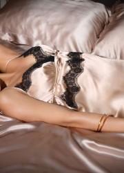 Alyssa Miller - Intimissimi Winter Lingerie Photoshoot
