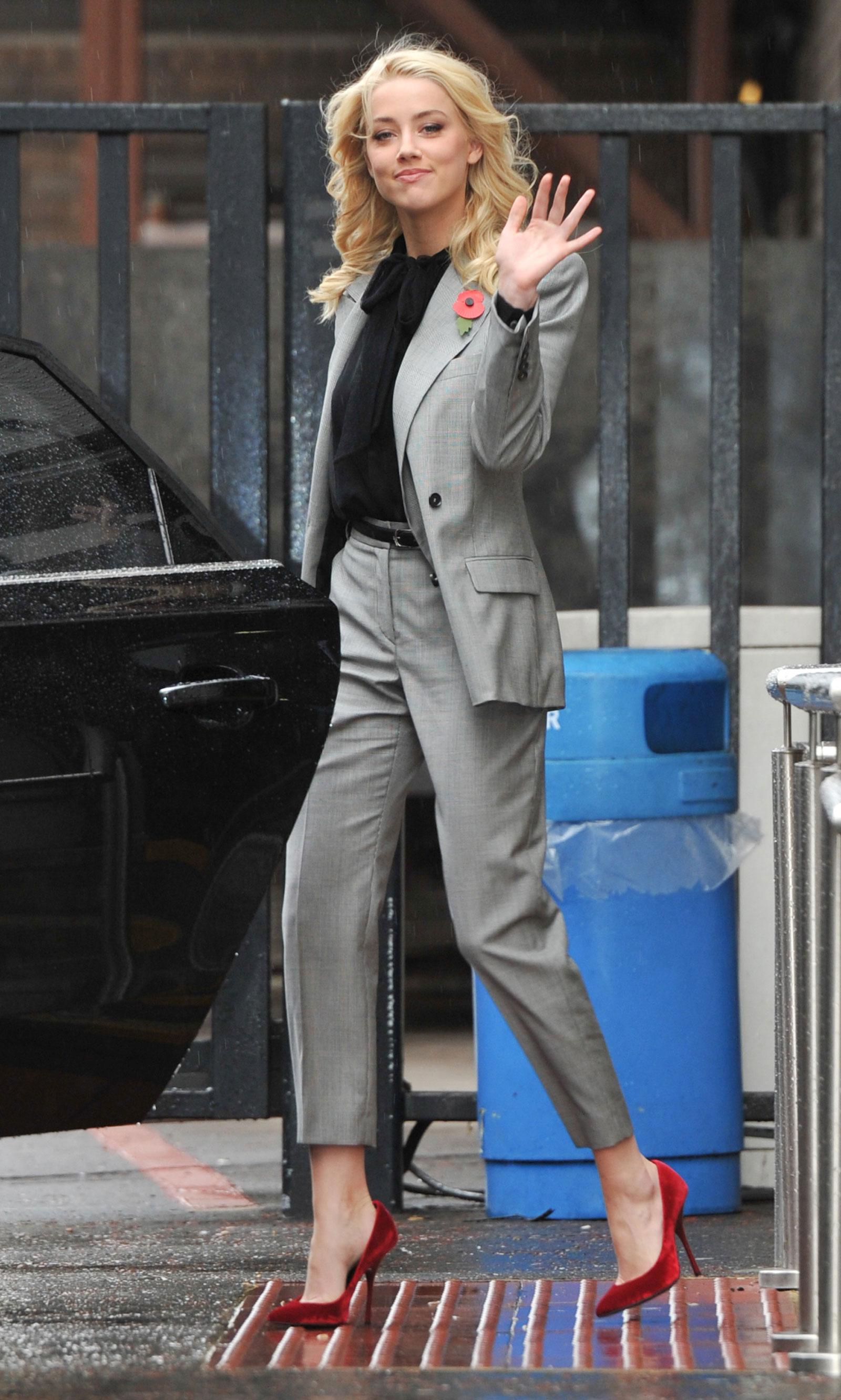 Amber Heard at ITV Stu...