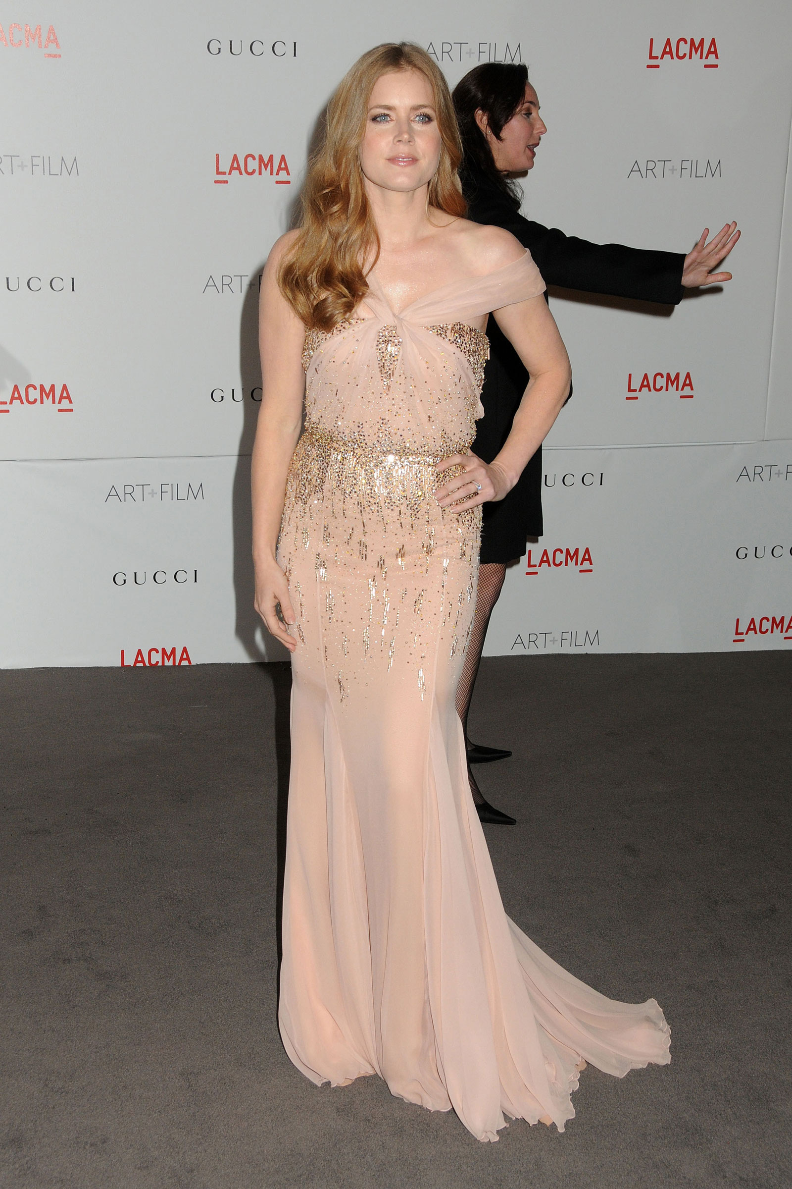 Amy Adams at LACMA Inaugural Art and Film Gala in Los