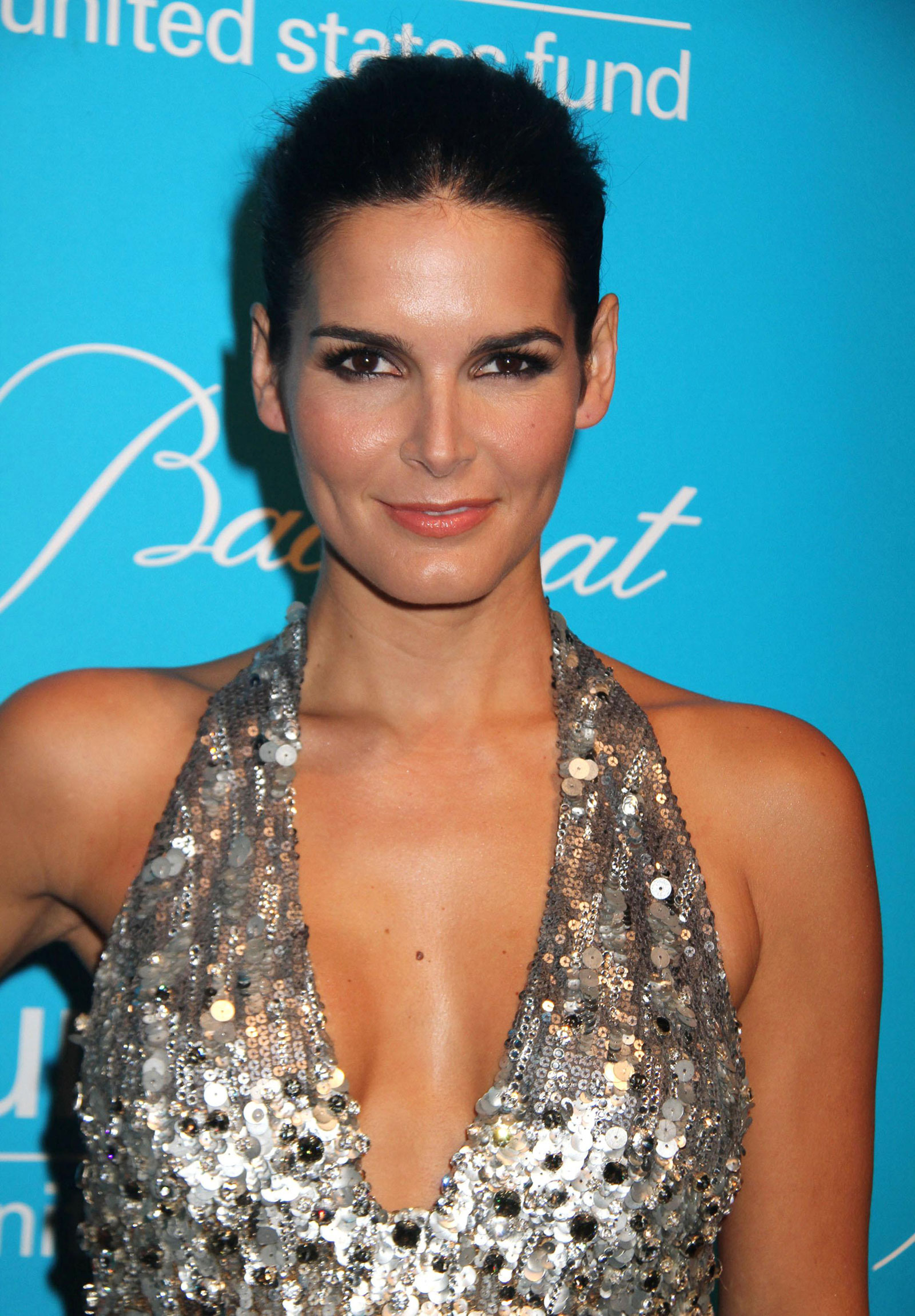 Angie Harmon At More Magazine September 2013: Angie Harmon At UNICEF Snowflake Ball In New York