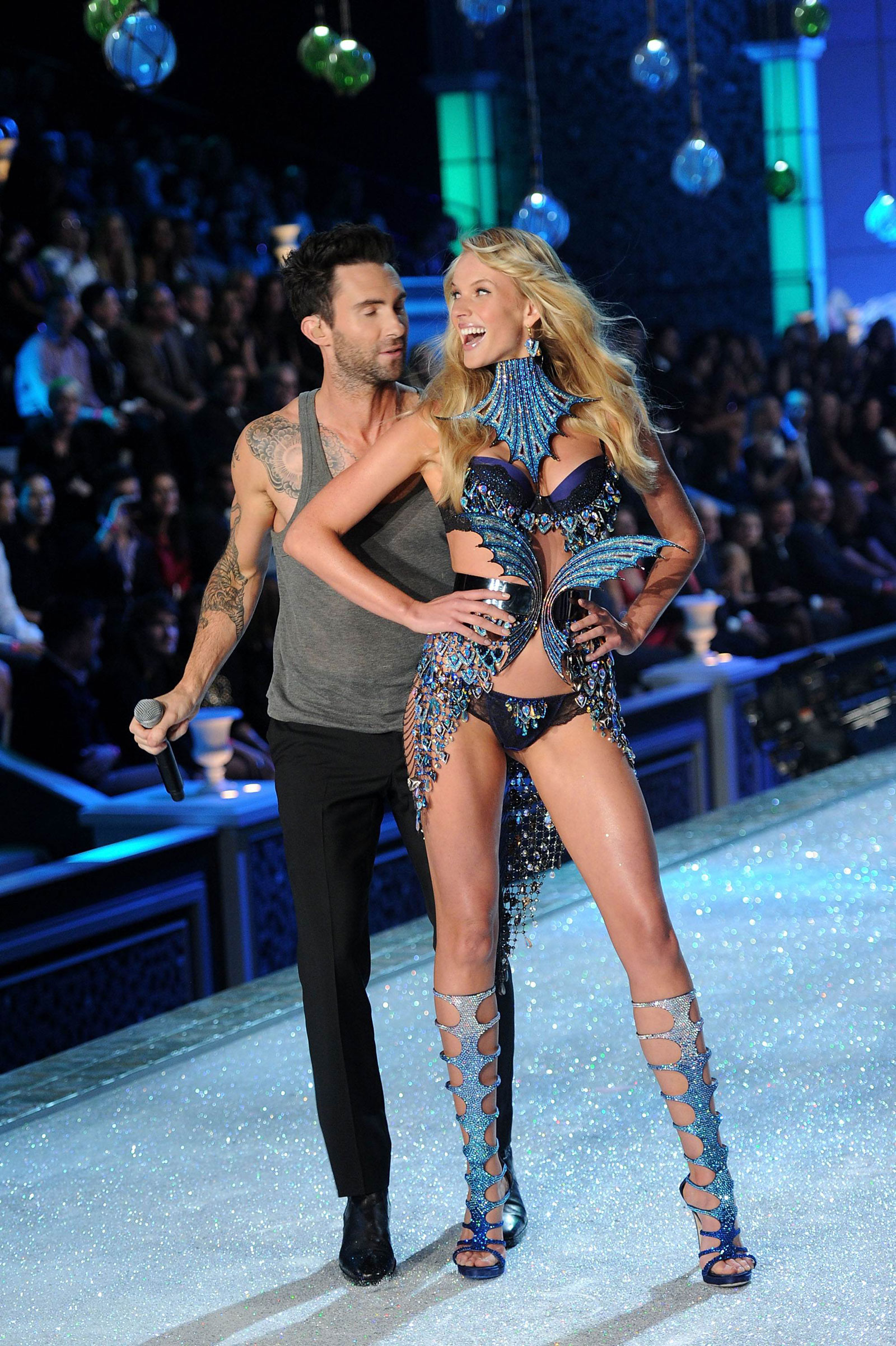 Anne Vyalitsyna at Victoria s Secret Fashion Show in New ...