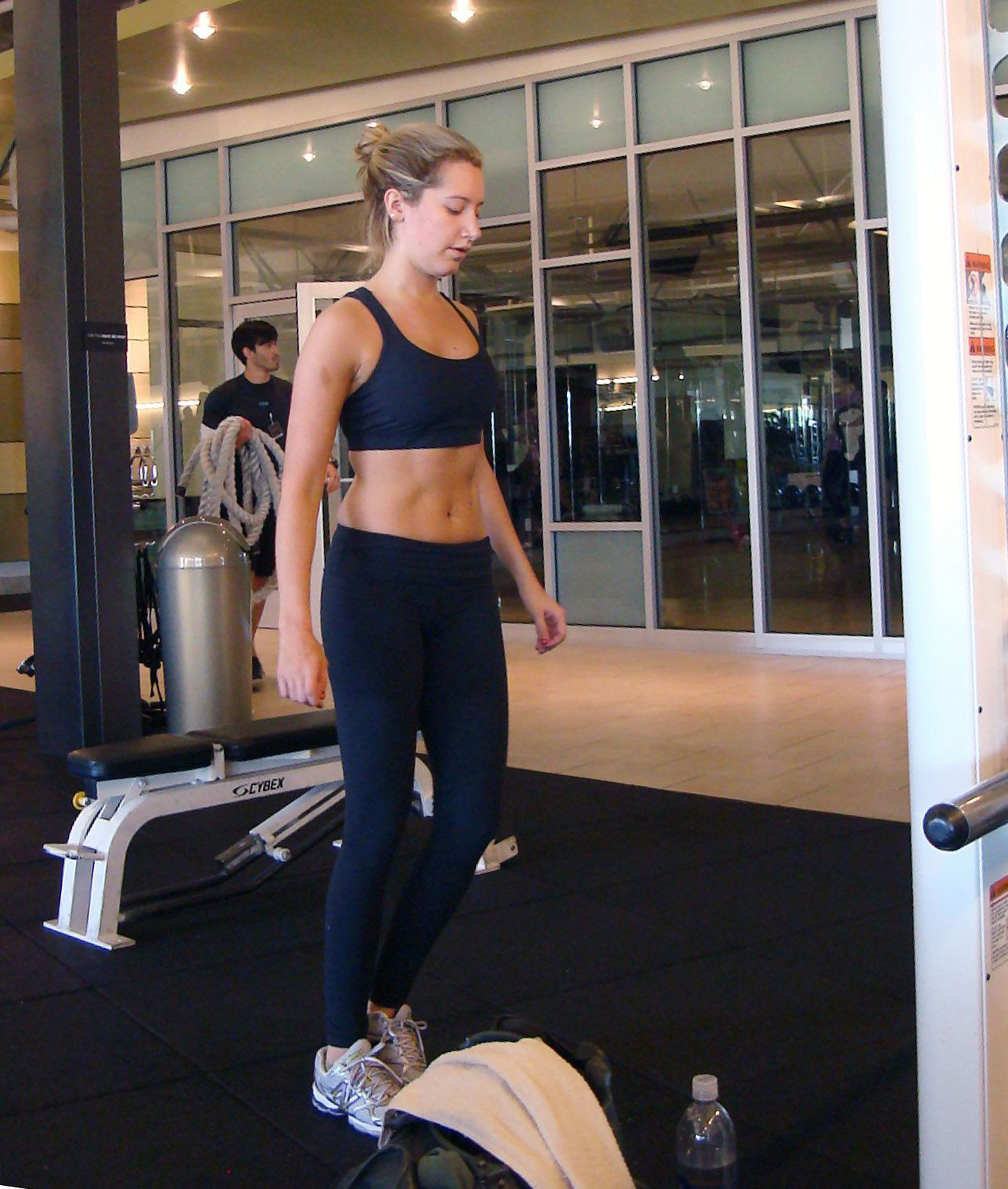 Working Out: Ashley Tisdale Working Out At Gym