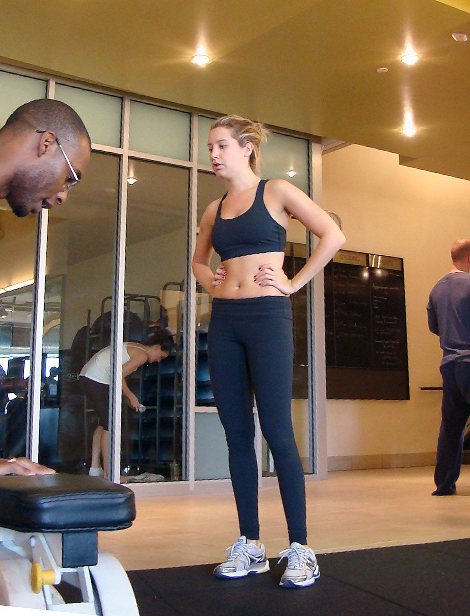 Ashley Tisdale Working Out At Gym Hawtcelebs