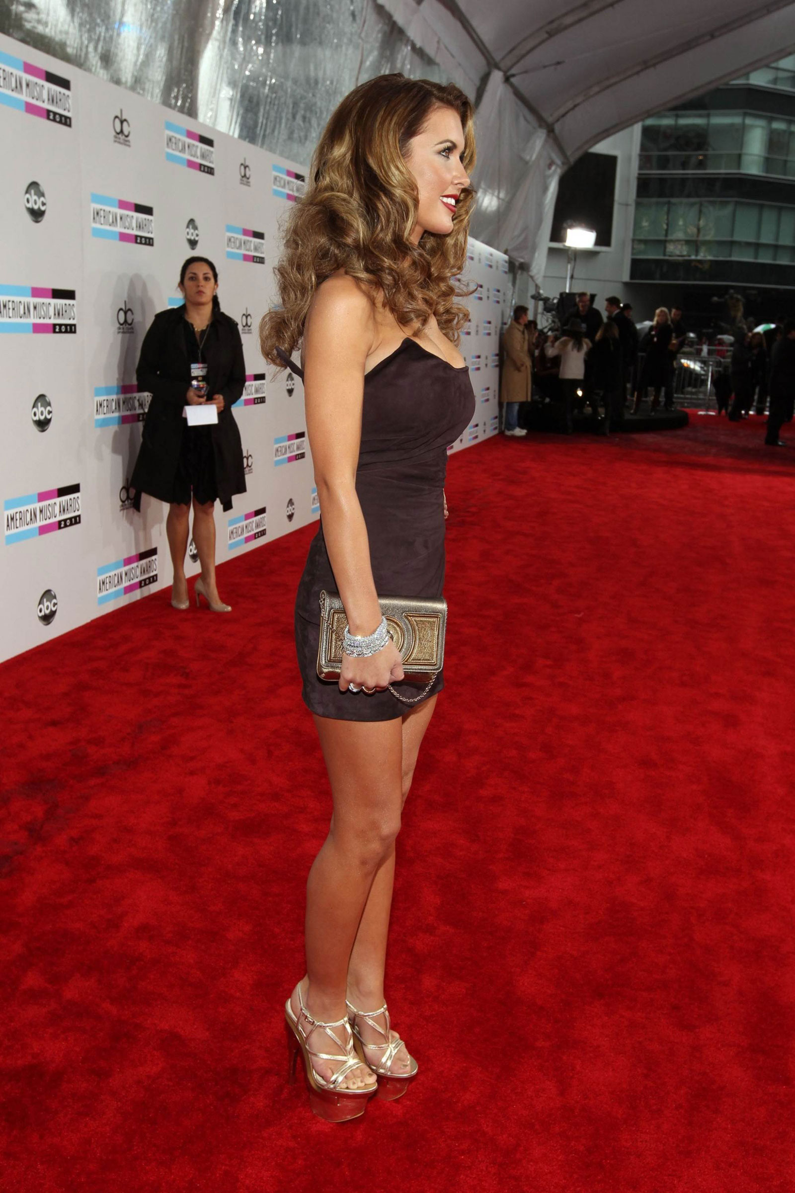 Audrina Patridge At 39th Annual American Music Awards In
