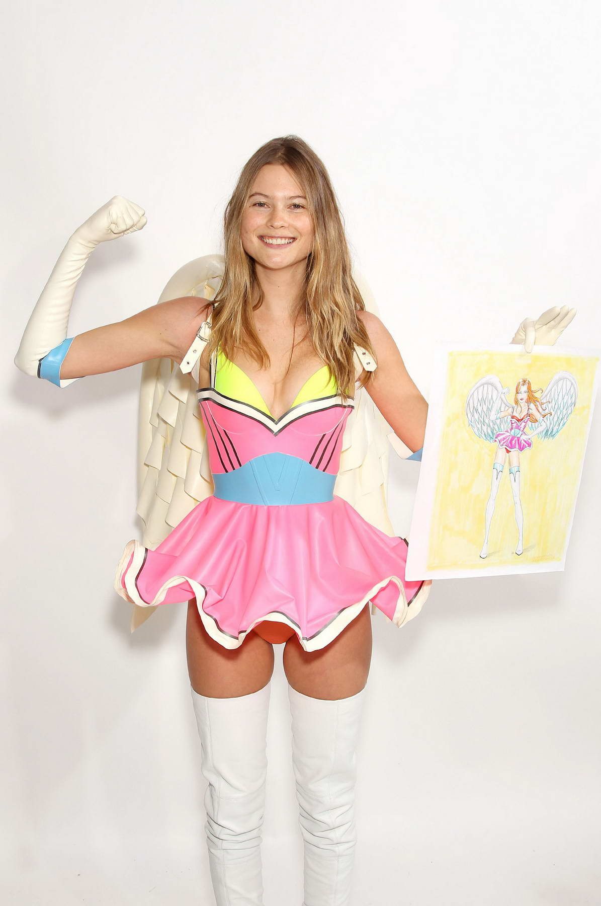 Victorias secret fashion show 2011 - Behati Prinsloo At Victoria S Secret Fashion Show 2011 Fittings