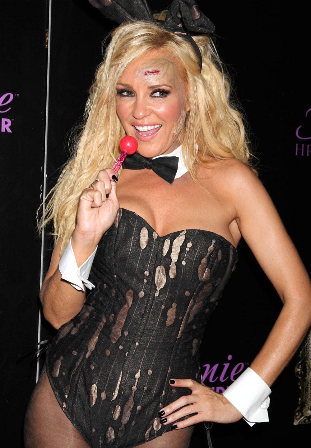 Bridget Marquardt at Halloween Party in Gallery Nightclub in Las ...