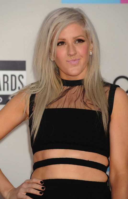Ellie Goulding at 39th Annual American Music Awards in Los Angeles