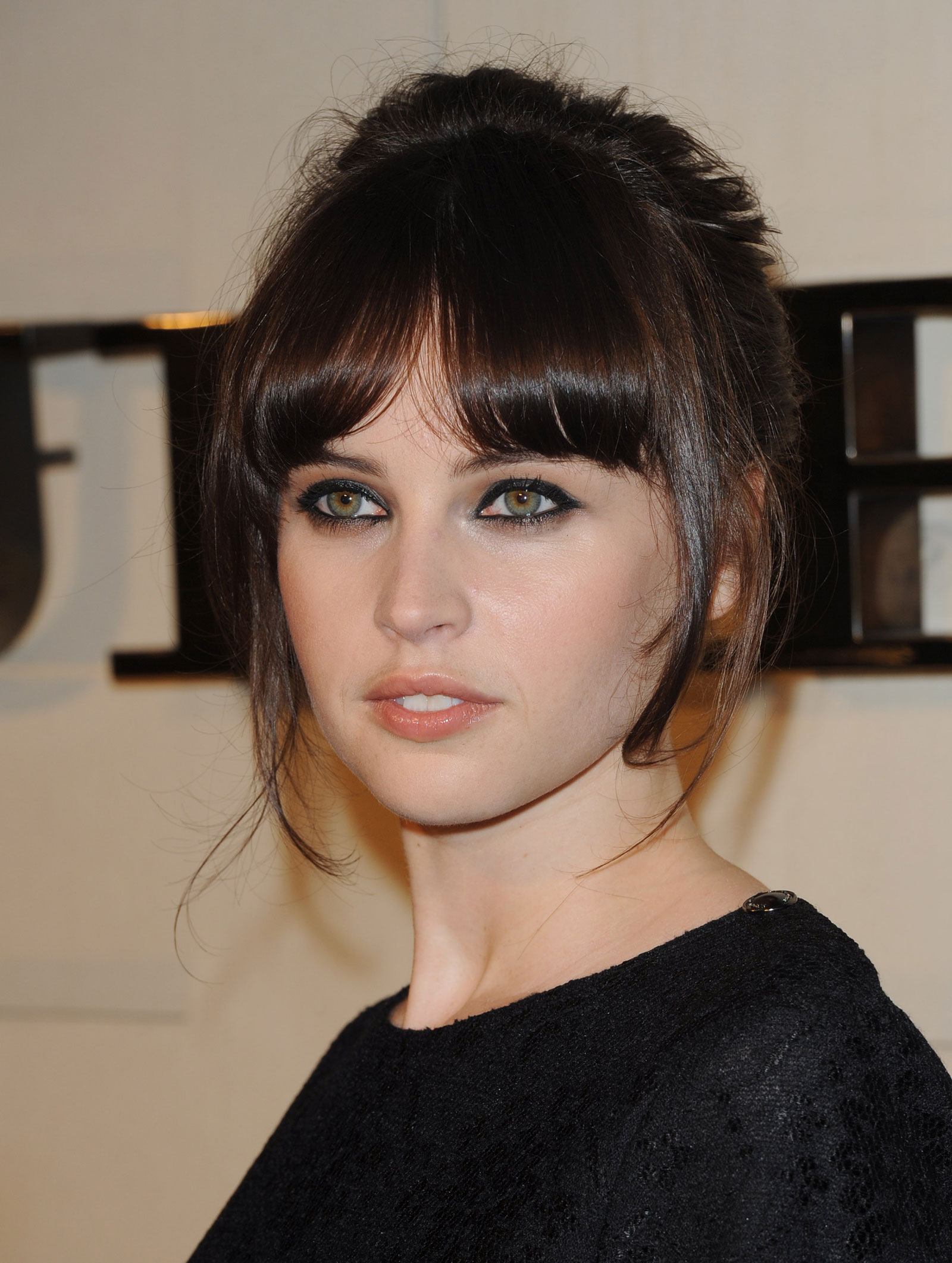 Felicity Jones at Burberry Body Fragrance Launch in Los Angeles ...