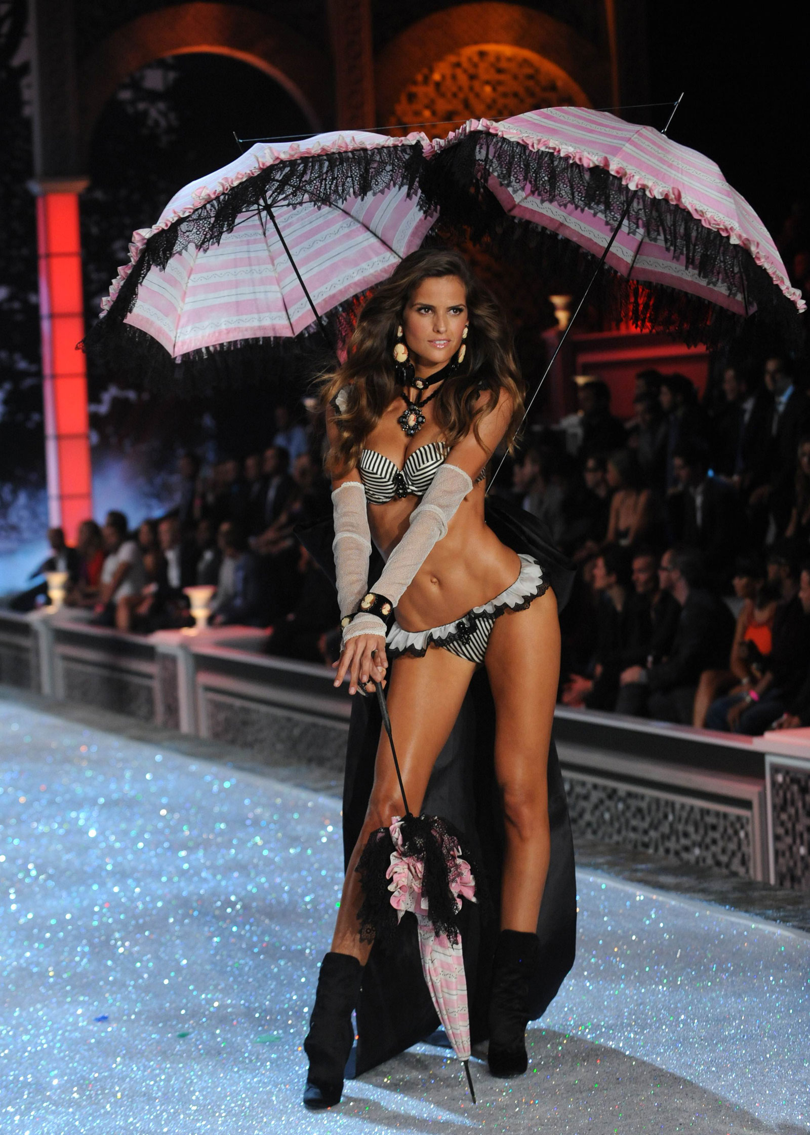 fa82adcd6b Izabel Goulart at Victoria s Secret Fashion Show in New York ...
