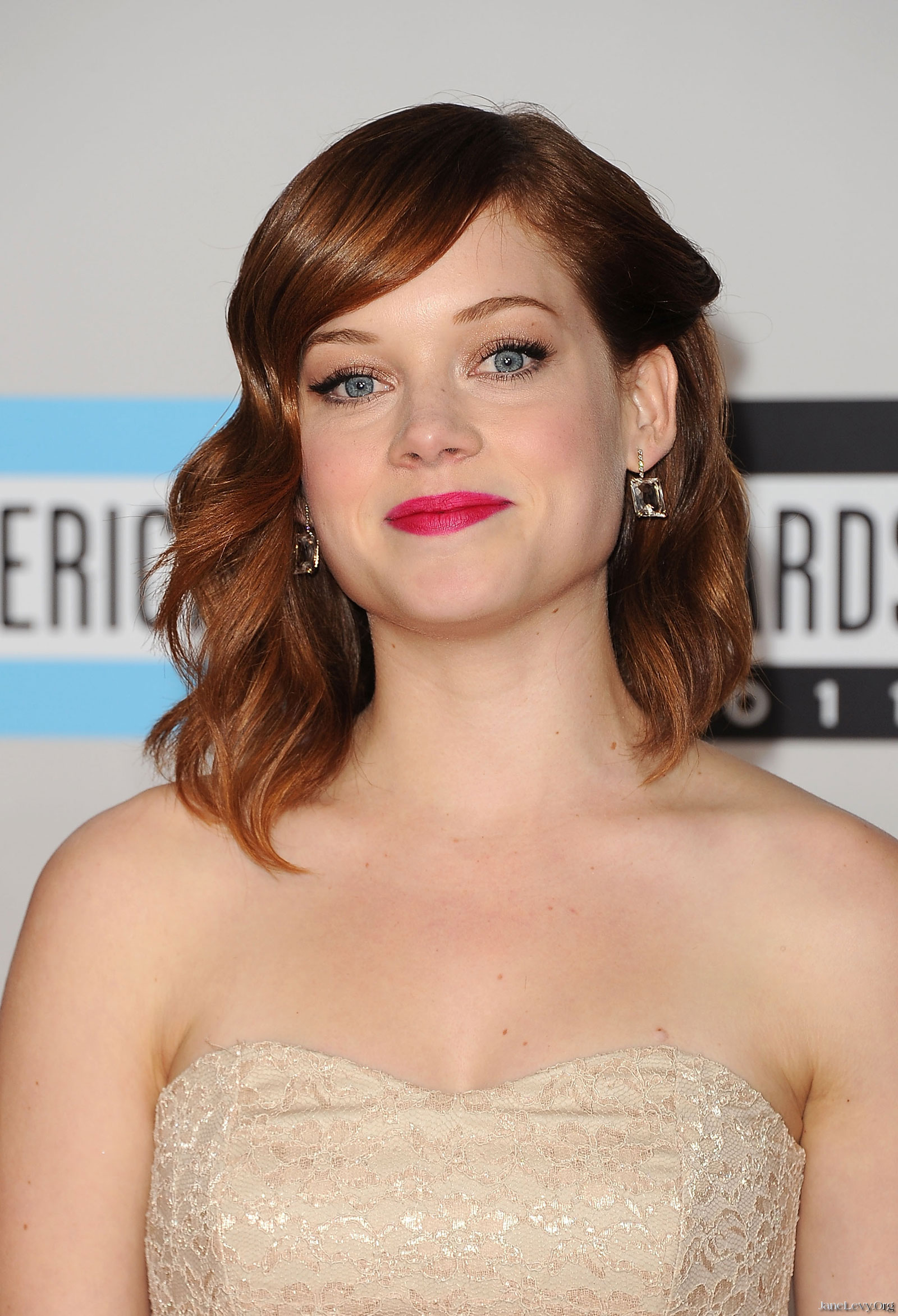 Jane Levy at 39th Annual American Music Awards in Los Angeles