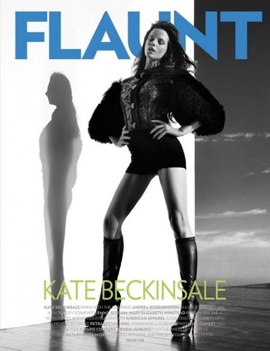 Kate Beckinsale Covers Flaunt Magazine