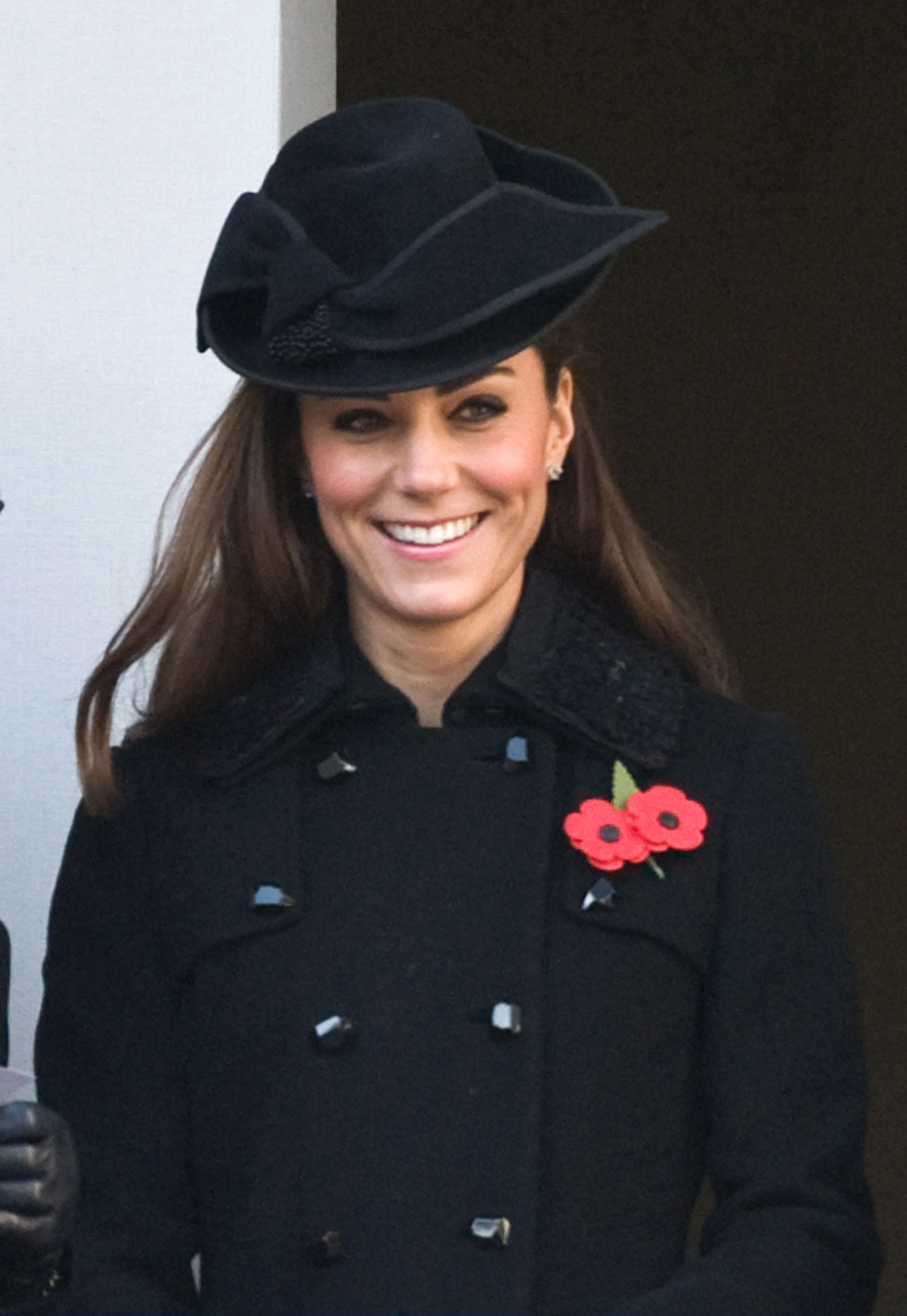 Kate Middleton At Remembrance Sunday