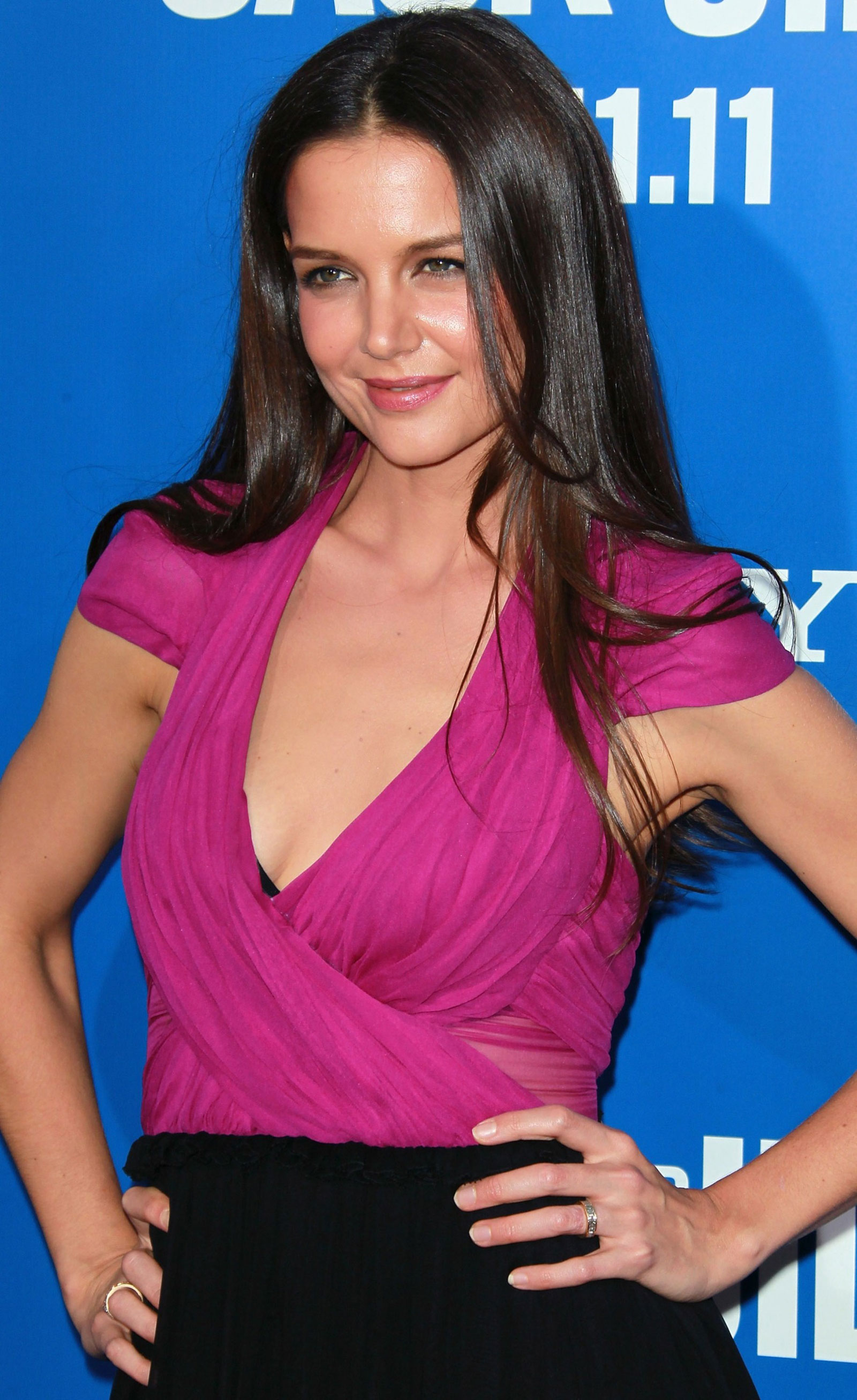 Katie Holmes At Jack And Jill Premiere In Los Angeles