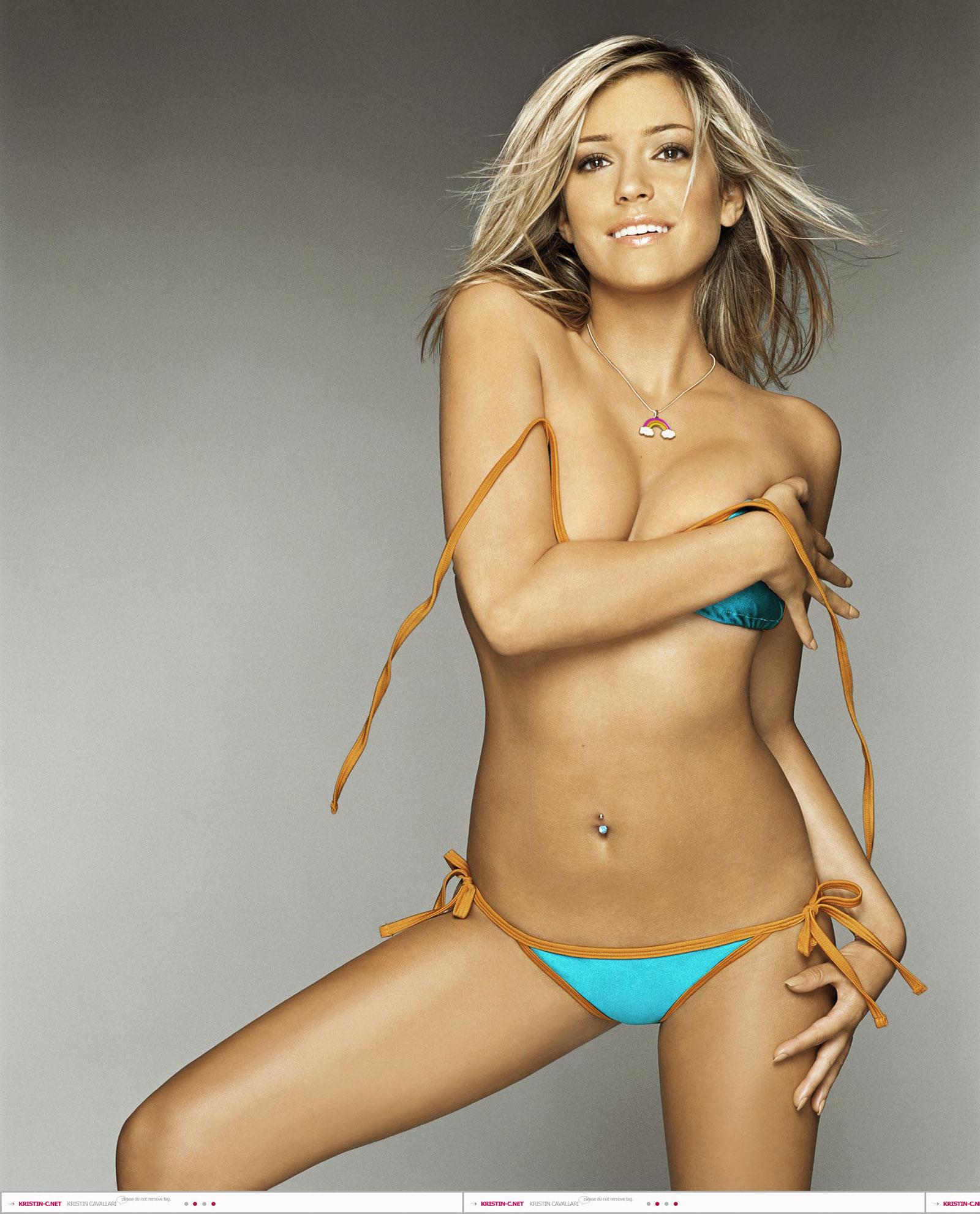 Kristin cavallari in a bikini