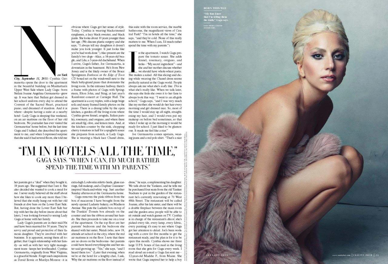 One Of Gaga S Best Mag Spreads Vanity Fair 2012 Appreciation Gaga Thoughts Gaga Daily