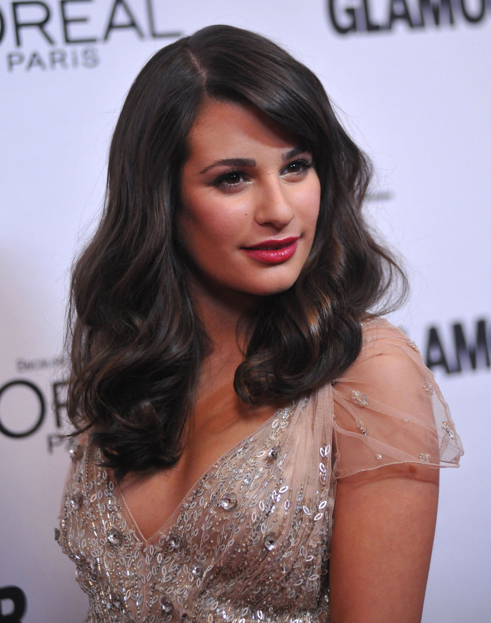 Lea Michele at Glamour Magazin