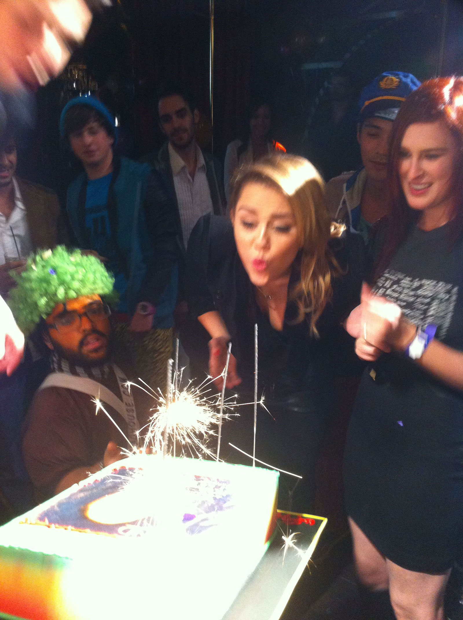 Miley Cyrus Celebrates 19th Birthday At The Hollywood Roosevelt In