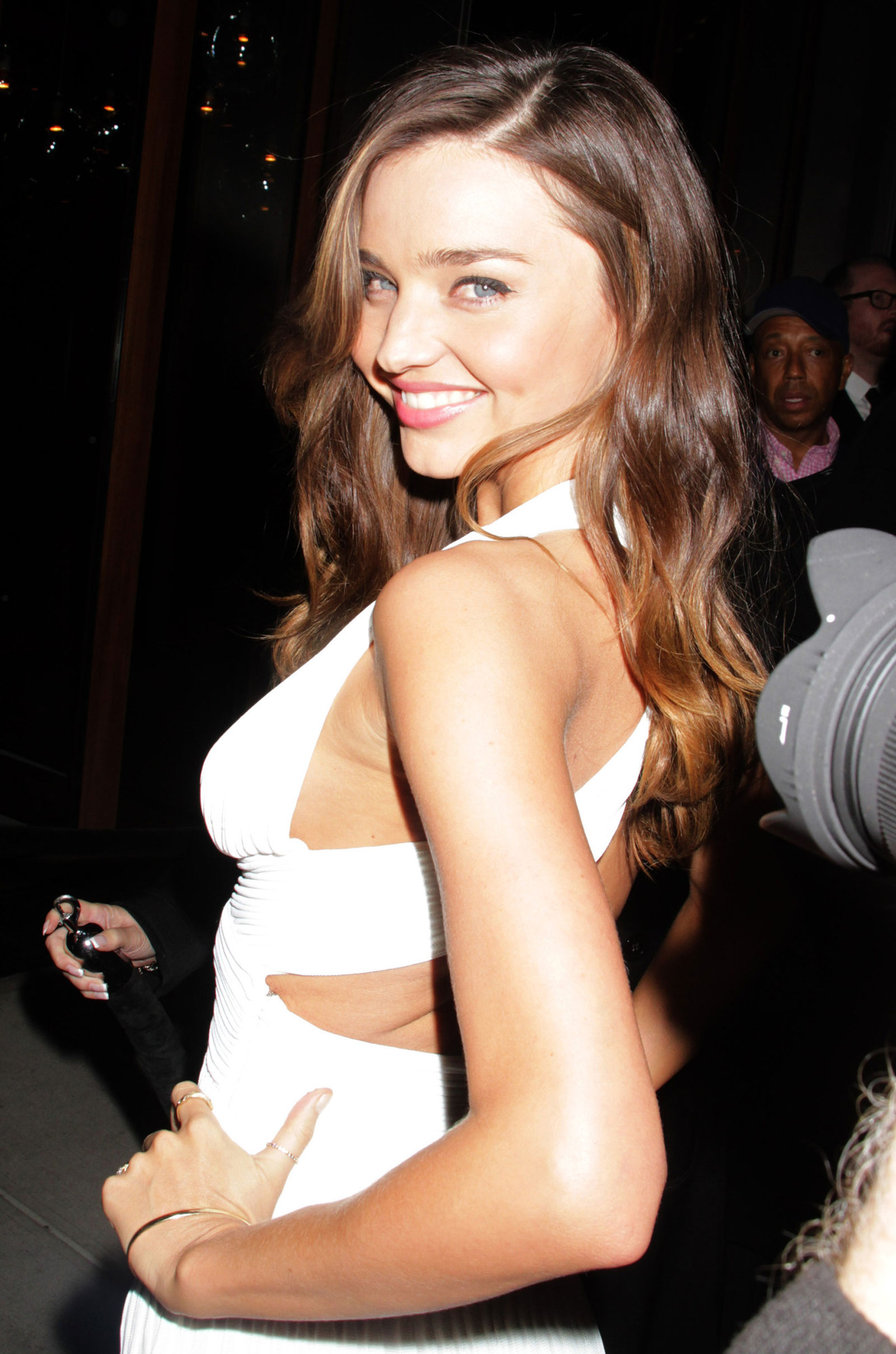 Miranda kerr at victoria s secret fashion show after party