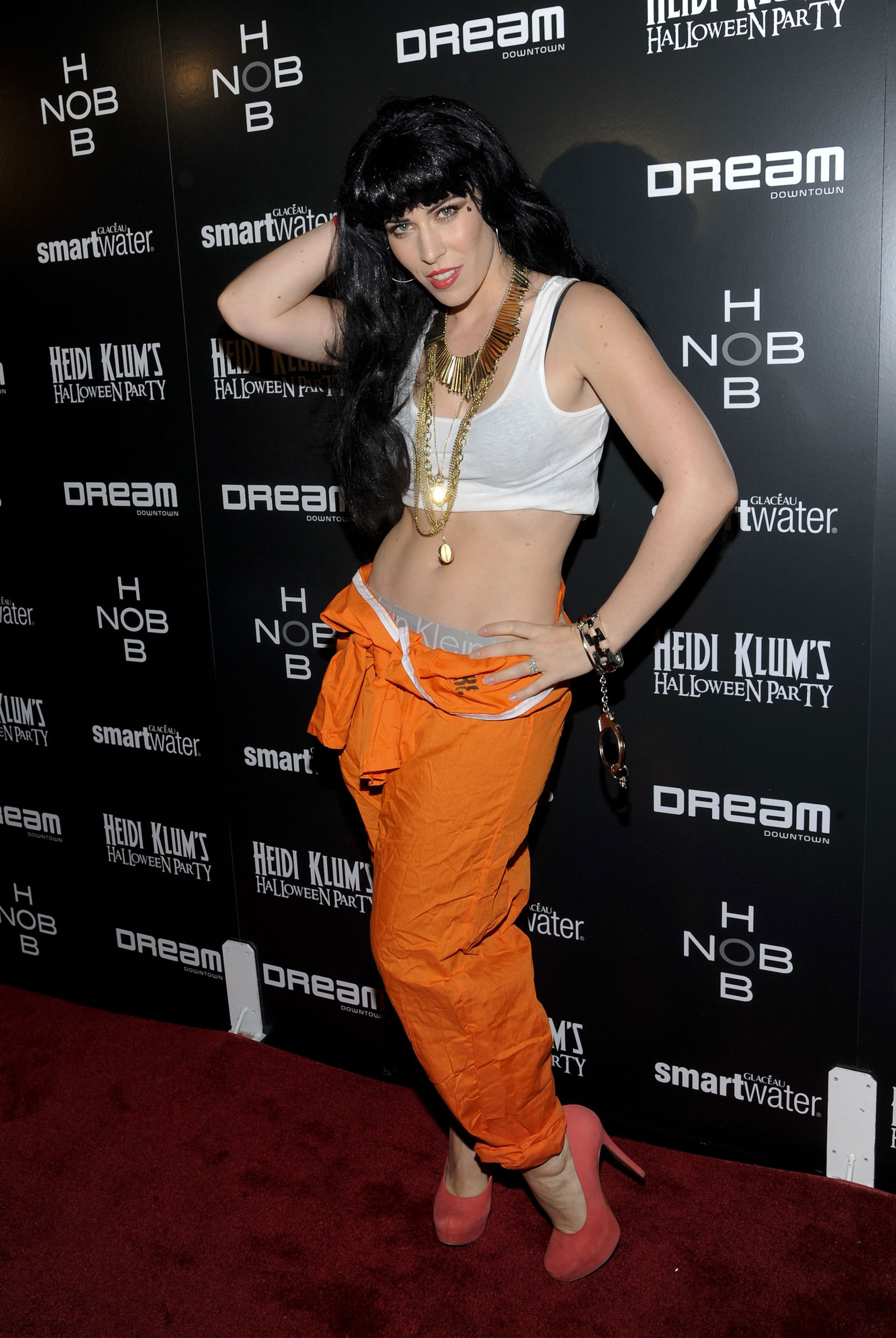 Natasha Bedingfield at Heidi Klum's Halloween Party in New York ...