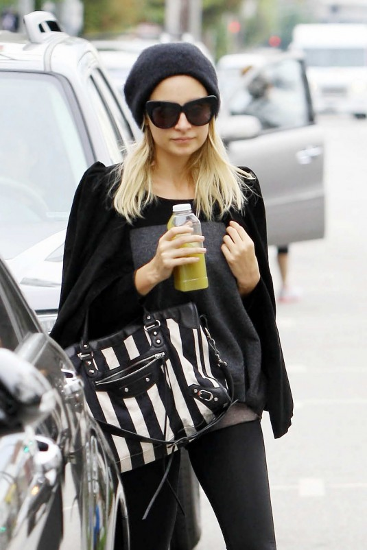 Nicole Richie Leave the Gym in Studio City