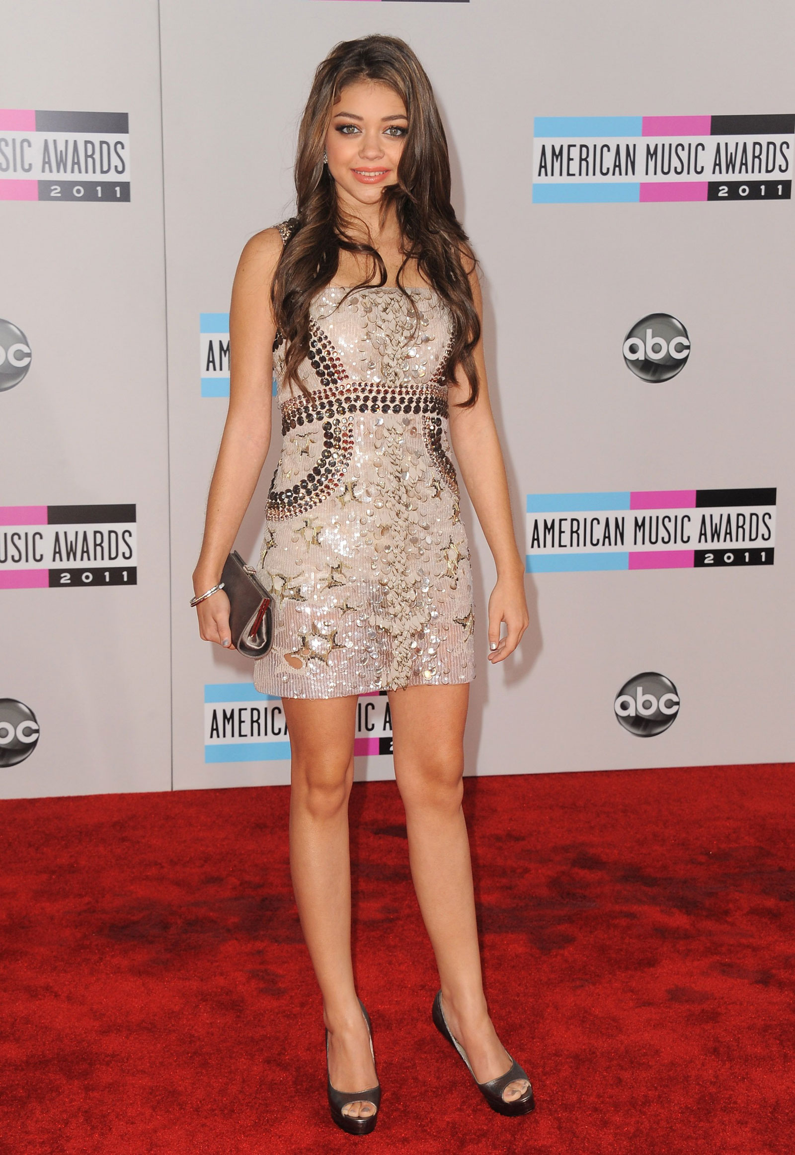 Sarah Hyland at 39th Annual American Music Awards in Los AngelesSarah Hyland