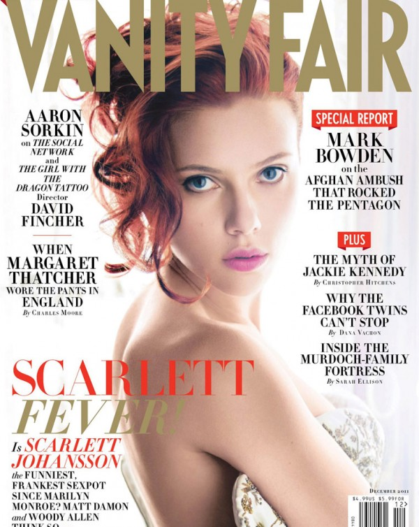 Scarlett Johansson Covers Vanity Fair