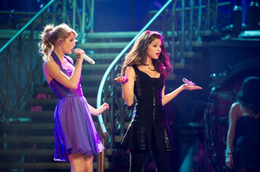 Taylor Swift and Selena Gomez Live at Madison Square Garden
