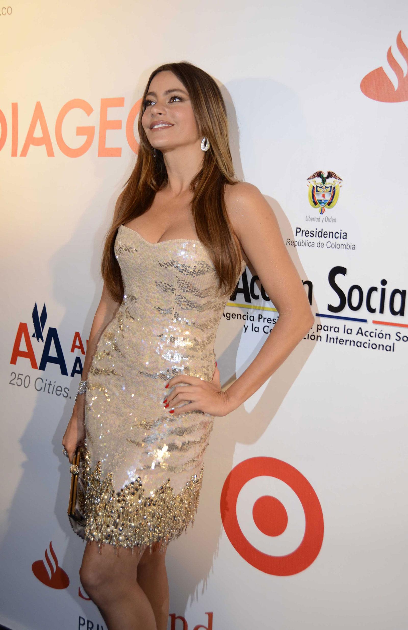 Sofia Vergara At BeLive Anniversary Celebration In Miami