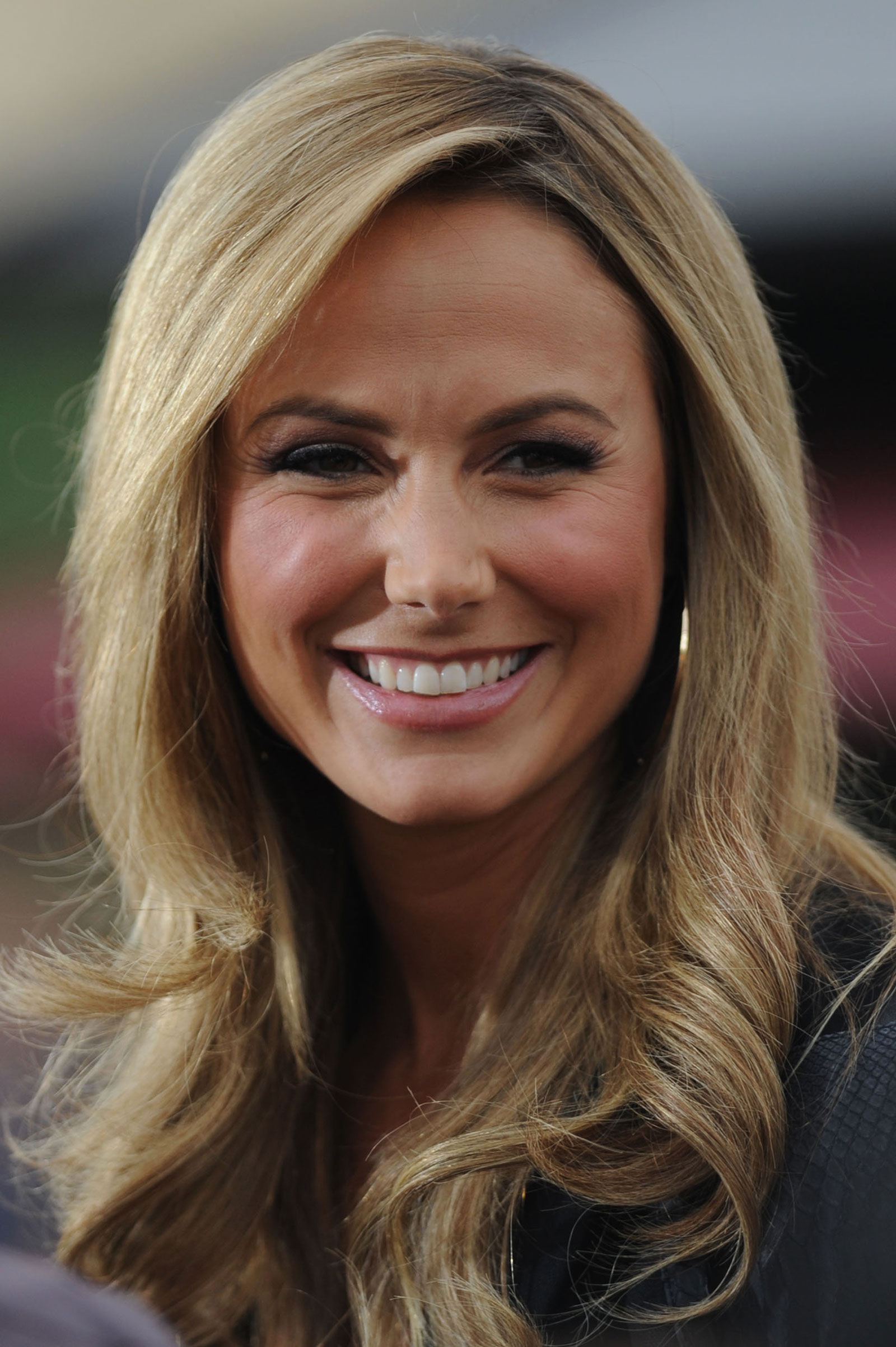 Stacy Keibler at Extra...