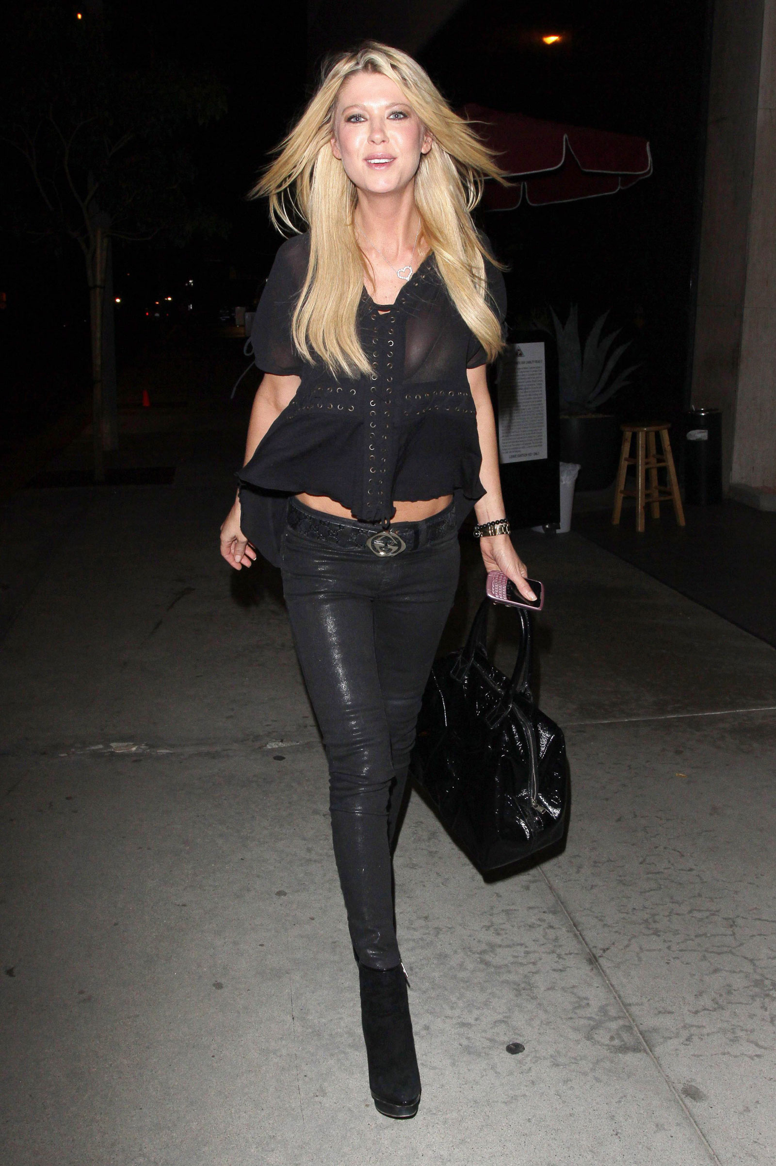 Tara Reid At Trousdale Night Club In Los Angeles HawtCelebs