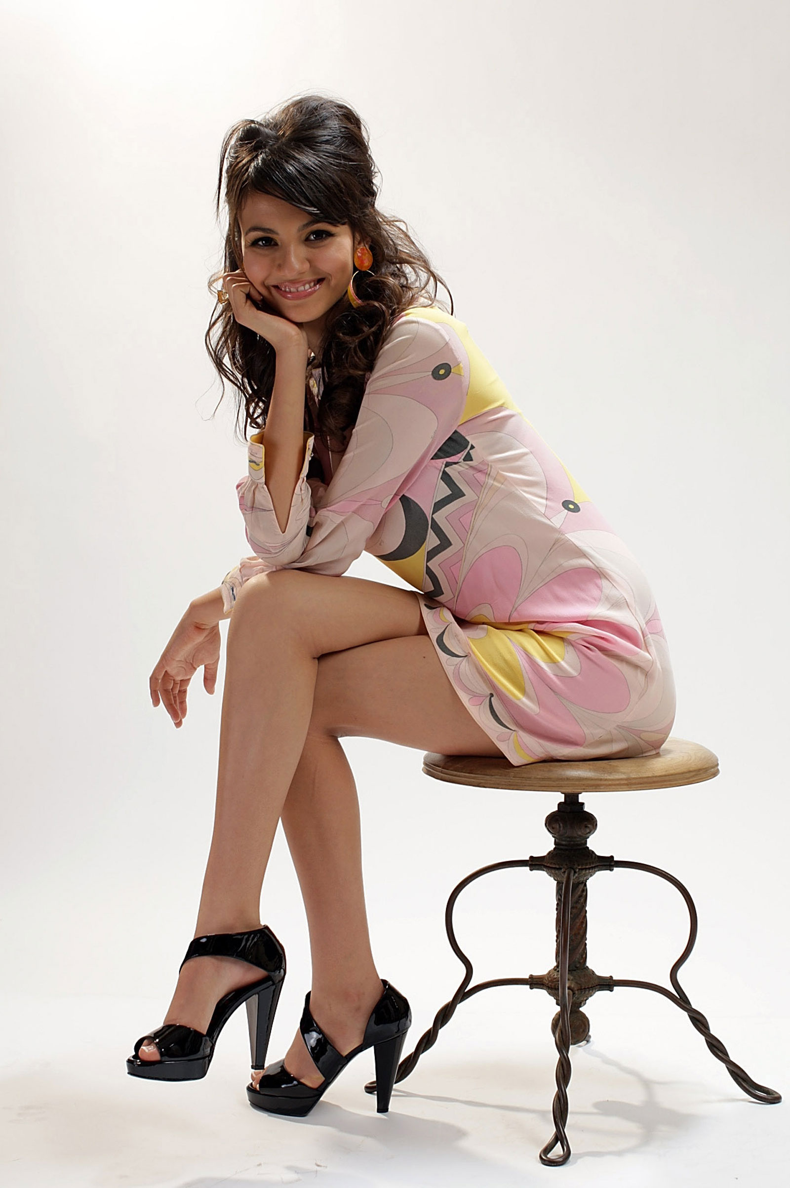 Victoria Justice At Michael Bezjian Photoshoot