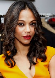 Zoe Saldana at Michael Kors Lifestyle Store Opening in LA