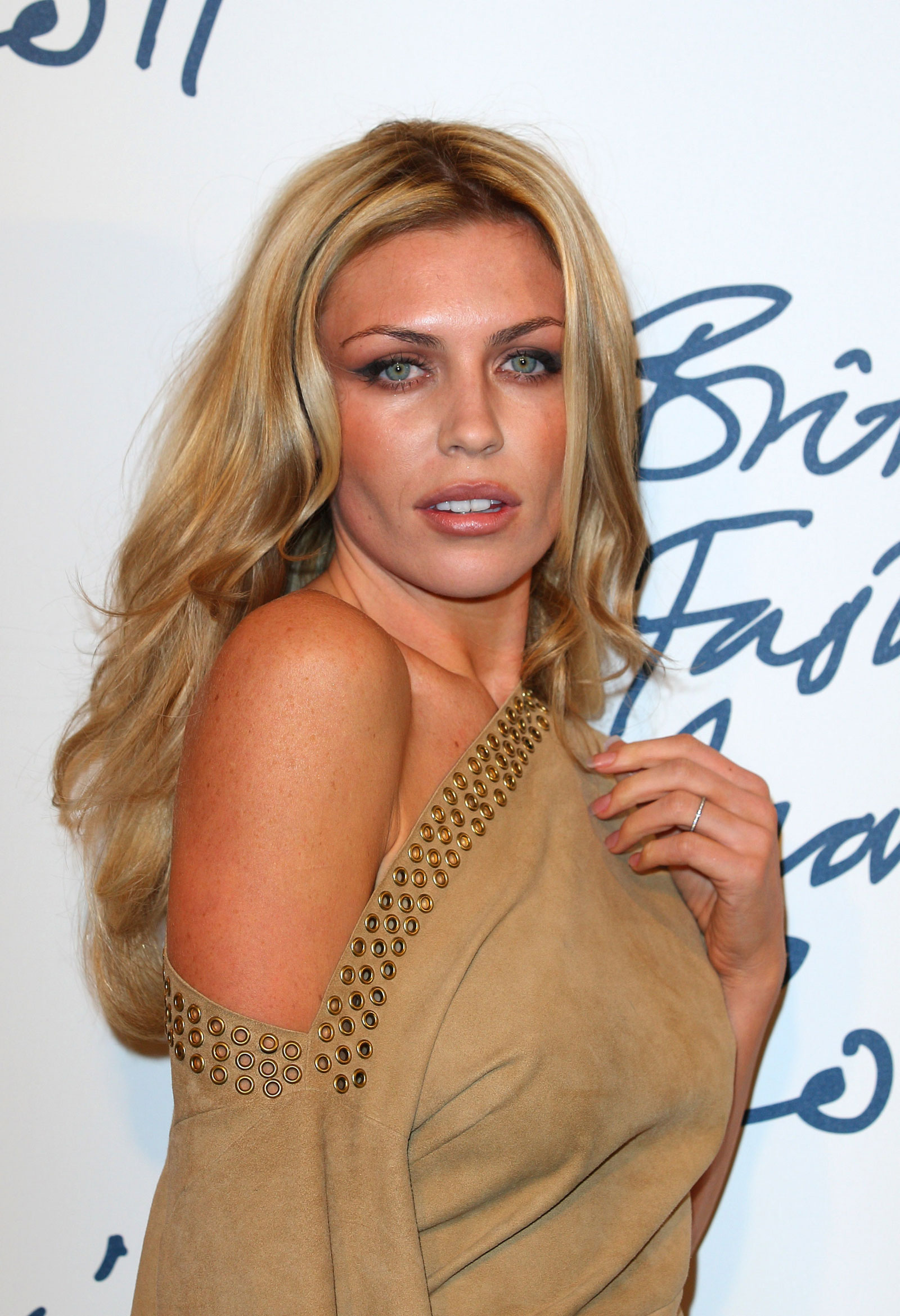 Abigail Abbey Clancy at British Fashion Awards in London