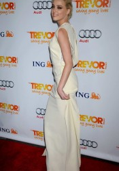 Amber Heard Arrives at The Trevor Project's 2011 in LA