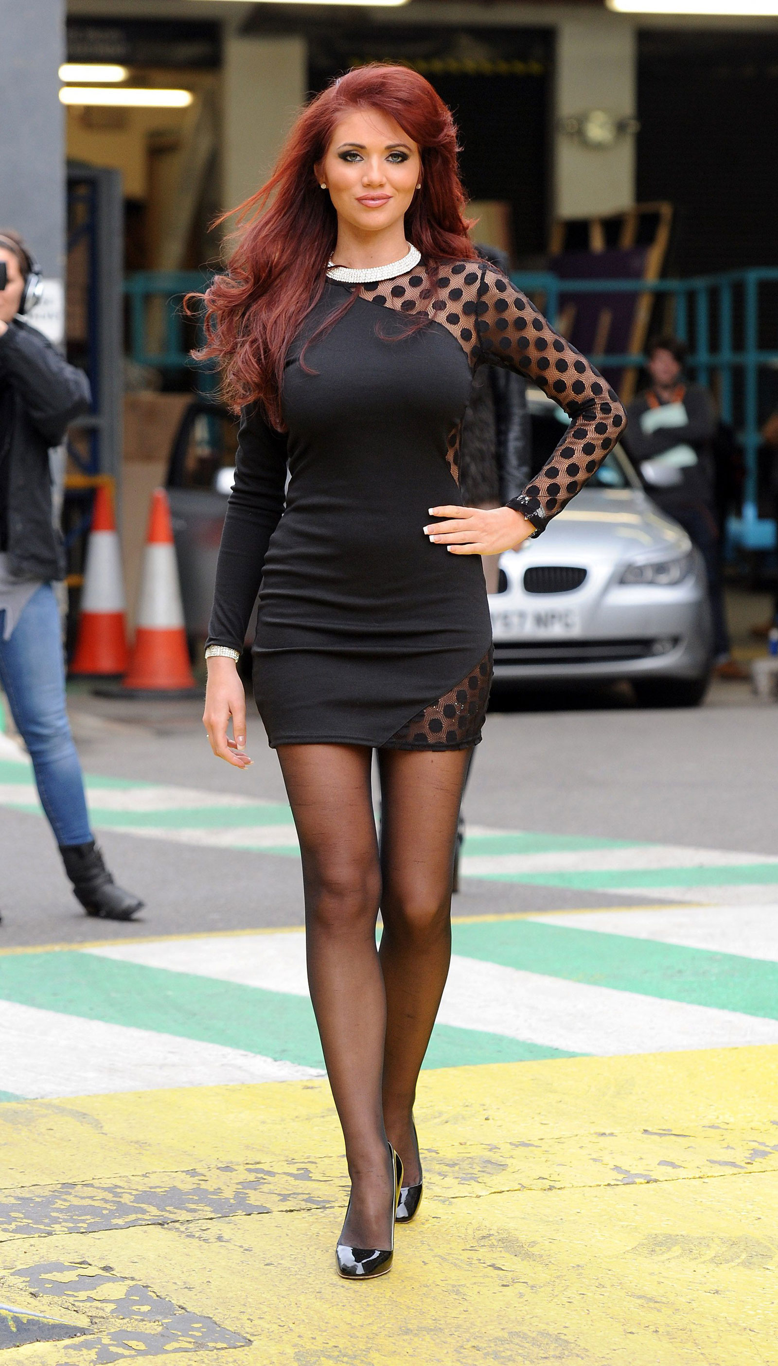 42 Photos Of Amy Childs Outside Itv Studios In London