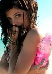 Ashley Greene Body Paint Photoshoot