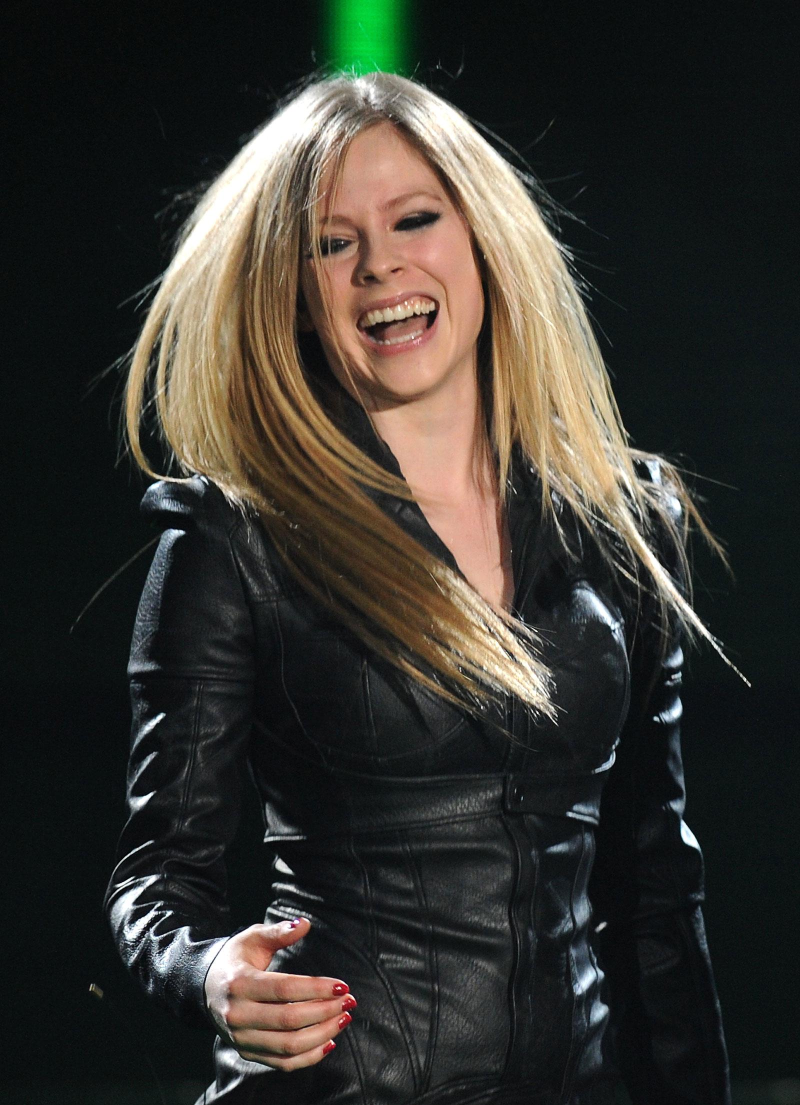 Avril Lavigne Performs at X Fa