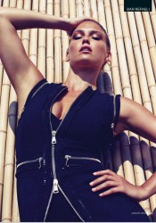 Bar Refaeli - GQ UK Magazine January 2012