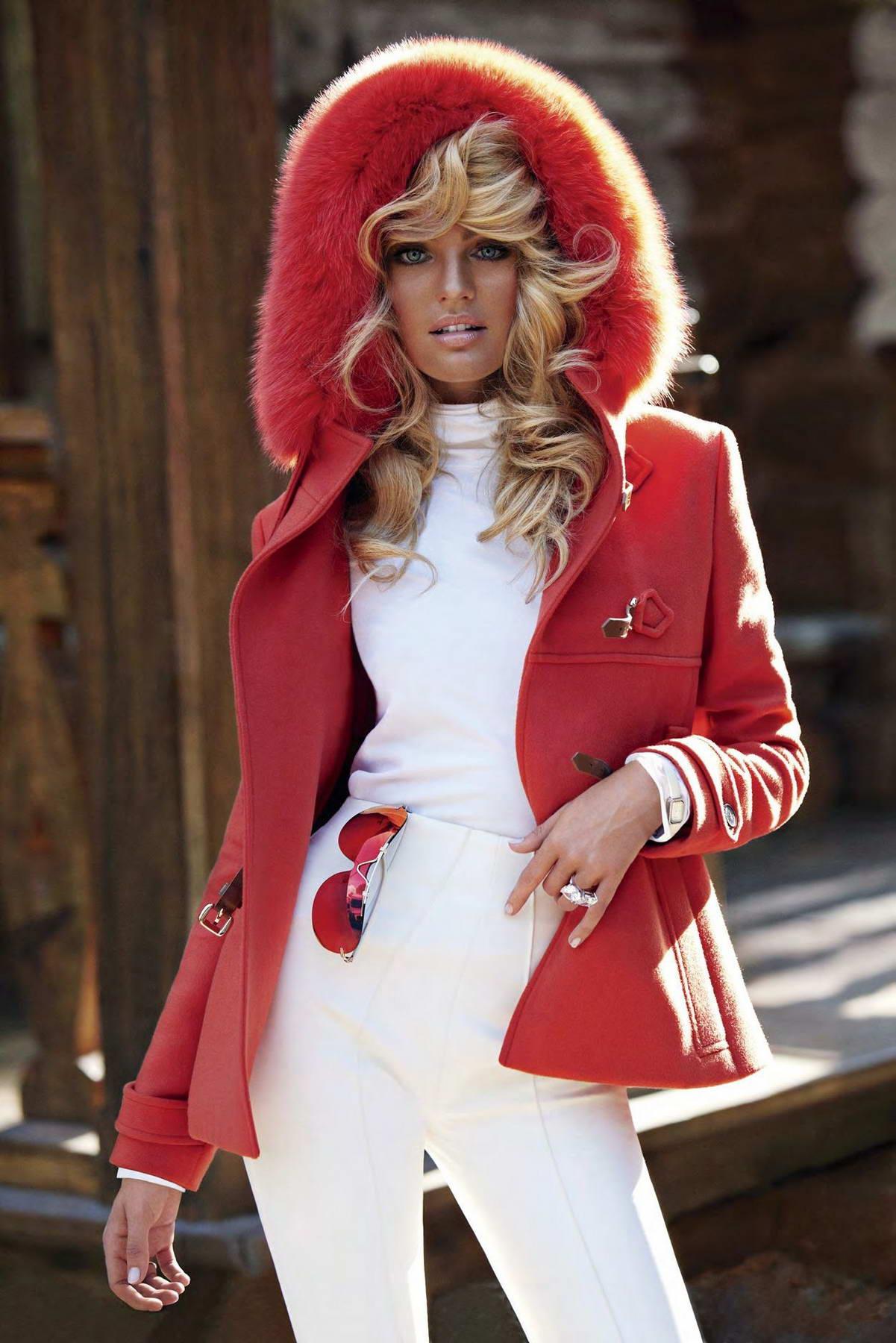 Candice Swanepoel Photoshoot For V Magazine 2011 - HawtCelebs