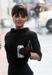 Christina Ricci Looks Good On Set of Pan Am in New York