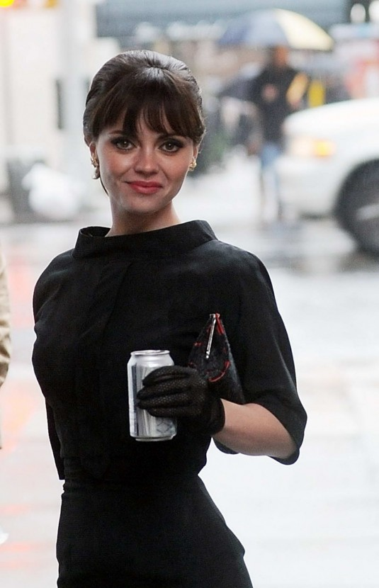 Christina Ricci On Set of Pan Am in New York - HawtCelebs - HawtCelebs Christina Ricci