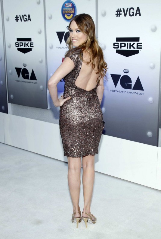 Clare Grant Arrives at Spike TV's 2011 Video Game Awards in Los Angeles